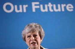 May expresa su confianza en que el Parlamento apruebe en junio el proyecto para materializar el Brexit
