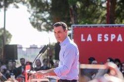 Pedro Sánchez participa este jueves en dos actos de campaña en Gran Canaria y Tenerife