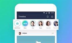 La 'app' de mensajería LINE añade las Stories de contenido efímero