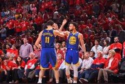 Los Warriors vuelve a imponerse a Portland y se quedan a un triunfo de la final de la NBA