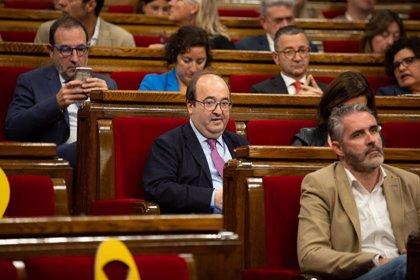 Iceta cree que el veto de ERC fue un acto de campaña y que no alterará la
