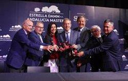 El Andalucía Masters pasa a llamarse Estrella Damm Andalucía Masters y a jugarse en junio