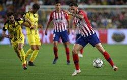 El Atlético despide el curso con derrota en Jerusalén y lesión de Costa