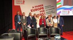 Álvarez (UGT), candidato a una vicepresidencia de la Confederación Europea de Sindicatos (CES)