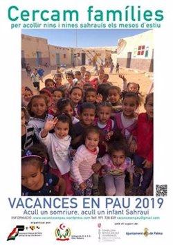 Asociación de Baleares busca familias que acojan en verano a niños saharauis de los campos de refugiados de Tindouf