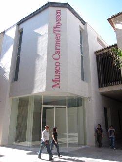 Presentan una demanda por atribución errónea de un cuadro del Museo Carmen Thyssen Málaga a un pintor malagueño