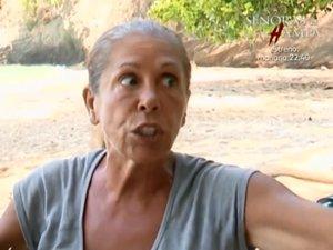 Isabel Pantoja se enfrenta a Mónica Hoyos y esta acaba llorando