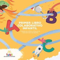 McDonald's se despide de la Feria del Libro de Madrid con su Primer Libro Colaborativo realizado por menores