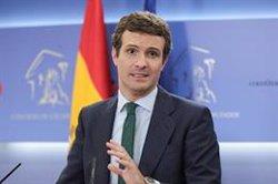 Casado pide mirar al Gobierno de Andalucía