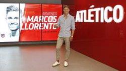 Marcos Llorente será presentado este viernes a las 11.30 en el Wanda Metropolitano