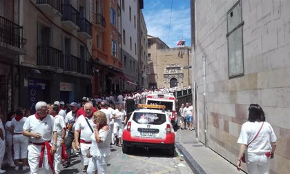 Cruz Roja atiende a 24 personas durante el comienzo de las fiestas