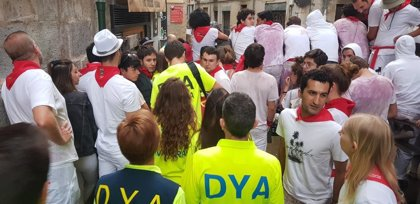 DYA Navarra atiende a 117 personas en el primer día de San Fermín