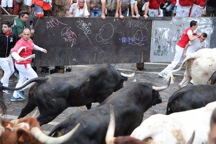 Los toros de Victoriano del Río Cortés este jueves en el sexto día de Sanfermines