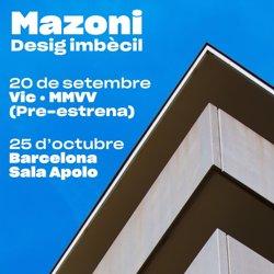 Mazoni publicará el nuevo disco 'Desig Imbècil' en octubre