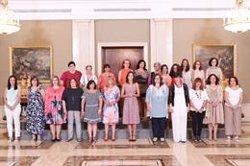 La reina Letizia recibe en La Zarzuela a la Red Estatal de Mujeres Salud Mental España
