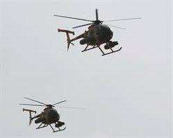 Al menos siete milicianos muertos en ataques aéreos en el centro y el este de Afganistán