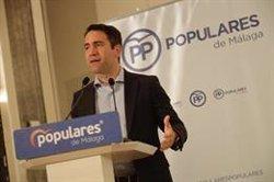 García Egea pide al PSOE que se abstenga de