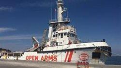 El Gobierno ofrece Algeciras como puerto de destino para el Open Arms