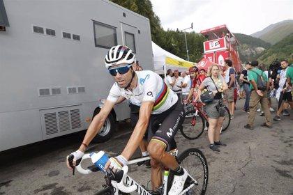 Valverde lucirá el dorsal número uno como vigente campeón del mundo