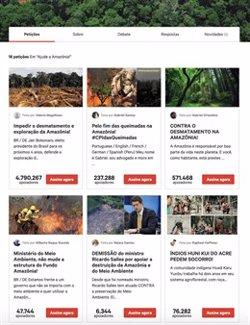 Más de 8 millones de personas en todo el mundo piden salvar la Amazonia, el mayor pulmón del planeta