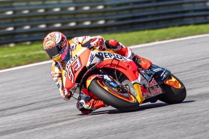 Marc Márquez rubrica en MotoGP su cuarta 'pole' consecutiva del año