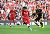 (Crónica) El Liverpool golea al Arsenal y el United cae en el descuento