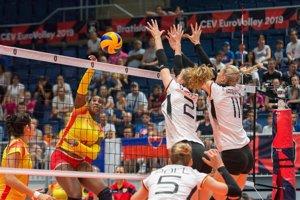 España pierde ante Alemania el segundo partido del Europeo femenino de voleibol