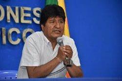 Evo Morales asegura que Bolivia aceptará cualquier ayuda internacional contra el incendio en la Amazonía