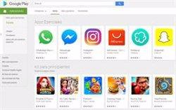 Google Play desarrolla un modo oscuro que ya funciona con Android 10