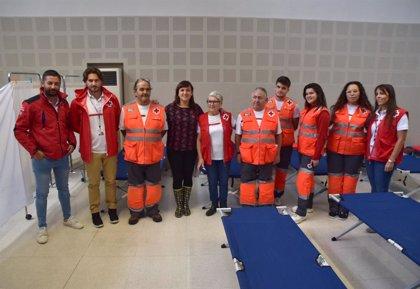 Una quincena de personas sin hogar pernoctan en el albergue de Cruz Roja en Valencia