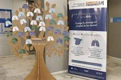Cuatro hospitales acogen 'Tu voz importa. Embajadores FPI' para concienciar sobre la fibrosis pulmonar idiopática