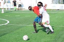 La selección española de fútbol para ciegos no pasa del empate sin goles ante Turquía en el Europeo