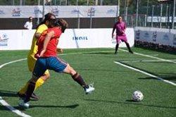 España golea (7-0) a Rumanía y se clasifica para las semifinales del Europeo de Fútbol para Ciegos