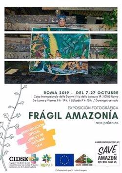 La fotoperiodista Ana Palacios inaugura hoy en Roma la exposición 'Frágil Amazonía'