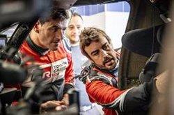 Fernando Alonso abandona en el Rally de Marruecos tras caer en
