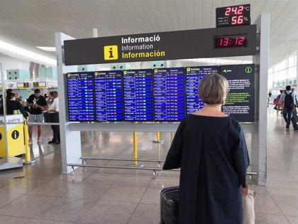 Normalidad en el Aeropuerto de Barcelona con 1.000 vuelos programados este martes