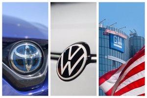 Toyota, Volkswagen y General Motors, las empresas del automóvil que más ganaron en el segundo trimestre
