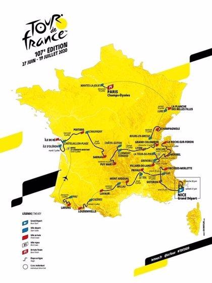 El Tour de Francia 2020 hará brillar a Pirineos y Alpes con cronoescalada incluida