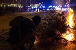 Transportistas dicen que el bloqueo de carreteras en Cataluña pone en peligro 20.000 toneladas de mercancías