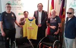 La Fundación ONCE dona tres sillas de ruedas a la Fundación Rudy Fernández