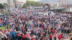 Pensionistas convocan una jornada de movilización ciudadana en las tres capitales vascas y Pamplona el 16 de noviembre