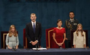 Los Premios Princesa de Asturias logran su mejor audiencia en TVE desde 2010 con el debut de la Princesa Leonor