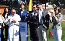 Inaugurado el Centro Deportivo 'Seve Ballesteros' en Brea de Tajo