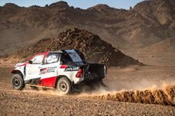 Alonso repite el cuarto puesto en la segunda etapa del Ula-Neom Rally