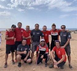 Fernando Alonso termina en el podio en el Ula Neom Rally