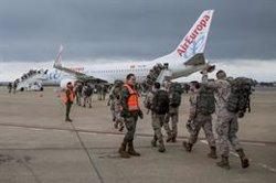 La primera rotación de 200 militares parte este martes a Líbano en una misión internacional de paz