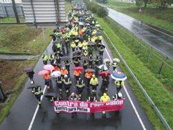 Unos 2.500 trabajadores de Navantia Ferrol y Fene se movilizan para pedir carga de trabajo para los astilleros
