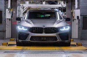 BMW comienza la producción del nuevo M8 Gran Coupé en la planta de Dingolfing (Alemania)
