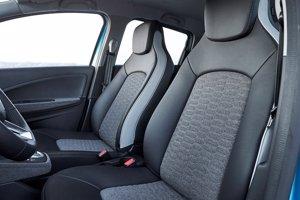 Renault fabrica la tapicería del eléctrico Zoe con un producto textil reciclado
