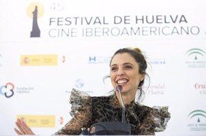 Leticia Dolera, premio Luz en el Festival de Cine de Huelva, pide proyectos